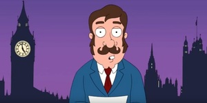 Cartoon Characters Who've Visited London