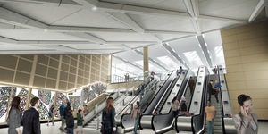 Here's What The Inside Of The New Farringdon Station Looks Like