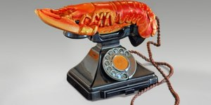 When Urinal Met Lobster Phone: A Dalí And Duchamp Love-In