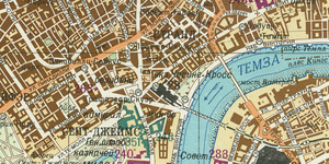 The Soviet Union Secretly Mapped London... Here Are Those Maps