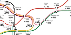 The Value Of Homes Next To Tube Stations Has Increased By Up To 57% In A Decade