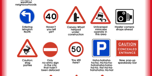 The Real Meaning Behind London's Road Signs