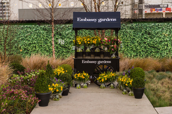 Buzzing New Pop-Up Food Market Comes To London\'s Embassy Gardens In ...