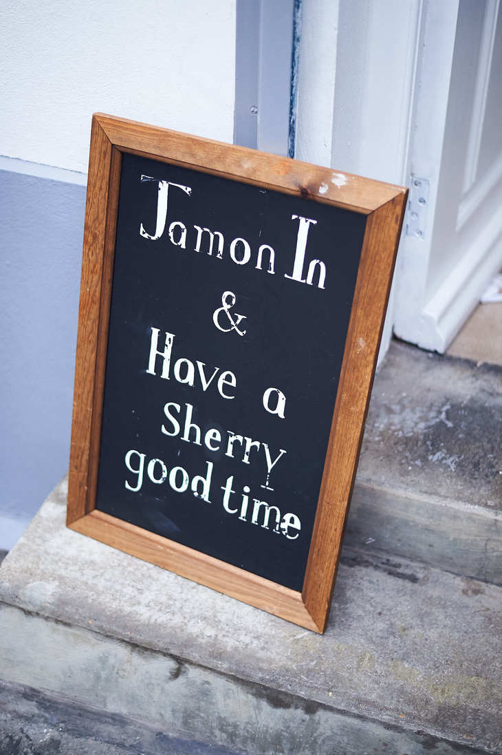 We're A Fan Of The Puns At This Sherry Bar