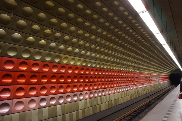 London Underground Vs Prague Metro