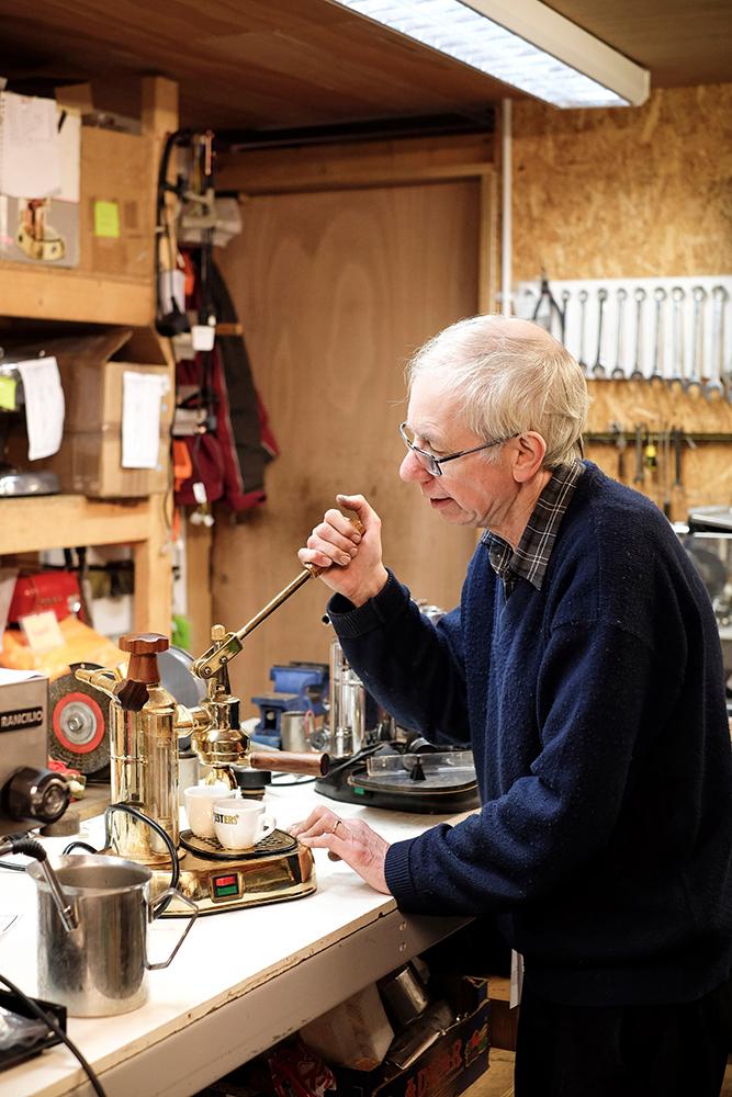 Photographer Captures London's Coffee Scene