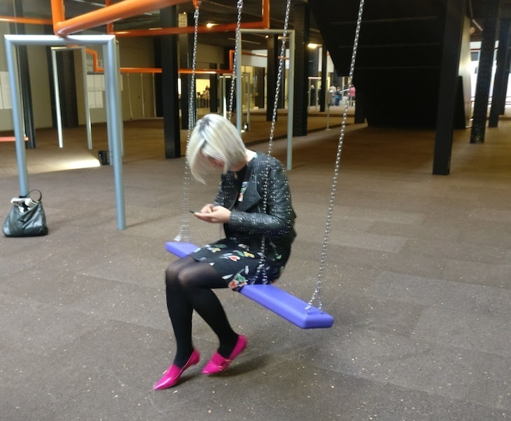 Swings And A Giant Mirror Ball - Tate Modern Has Never Been So Much Fun