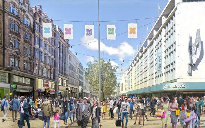 Plans To Transform Oxford Street Have Progressed... Slightly