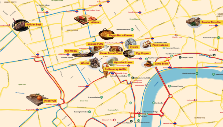 Be Adventurous With This A-Z London Food Guide