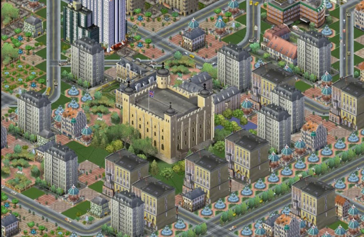 Could London Just Be One Giant Game Of SimCity?