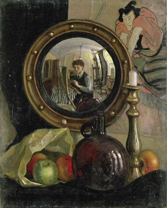 Painting By Mirrors Causes Us To Reflect At The National