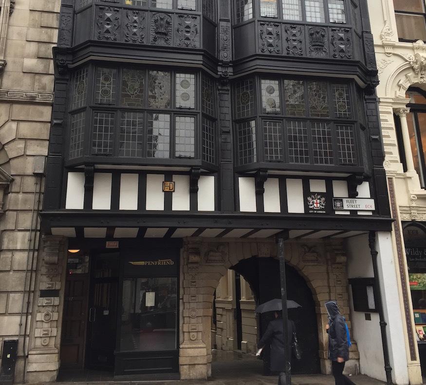 Ever noticed this little secret on Fleet Street?