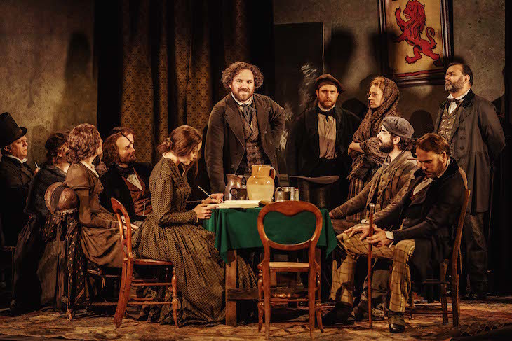 Young Marx Is A Disappointing Start For London's Newest Theatre