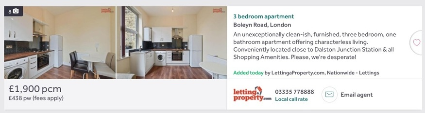 Estate agents' lies are exposed with this hilarious internet extension