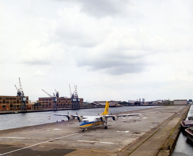 Here's What London City Airport Looked Like Before It Was An Airport
