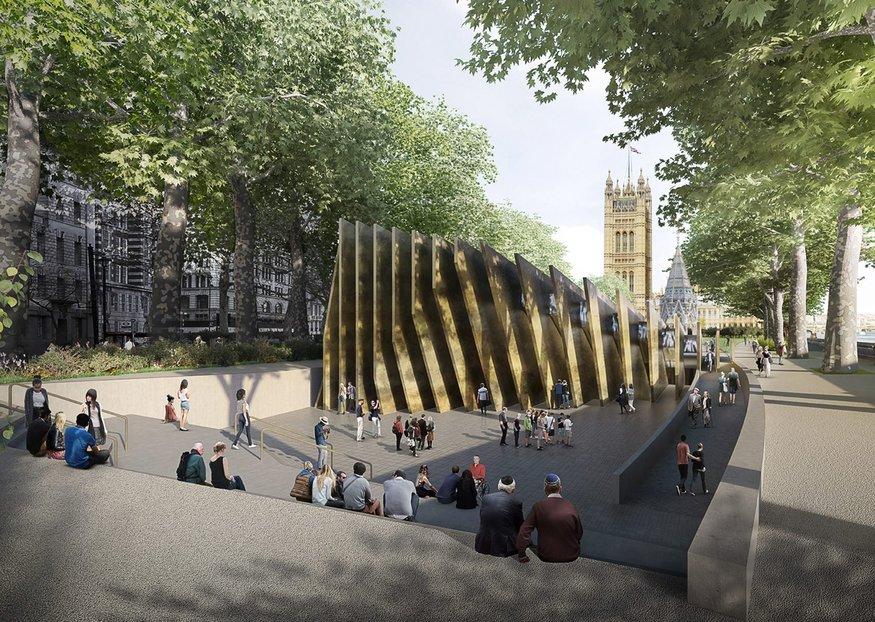 Winning Design For London's Holocaust Memorial Revealed