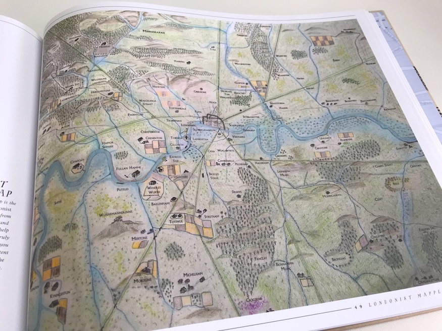 Wanna see some lovely London maps? Try our book