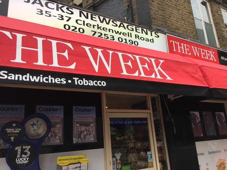 Why Would You Be A Newsagent In London?