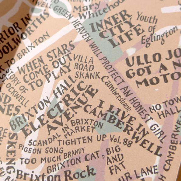 850 Songs About London On One Gorgeous Map
