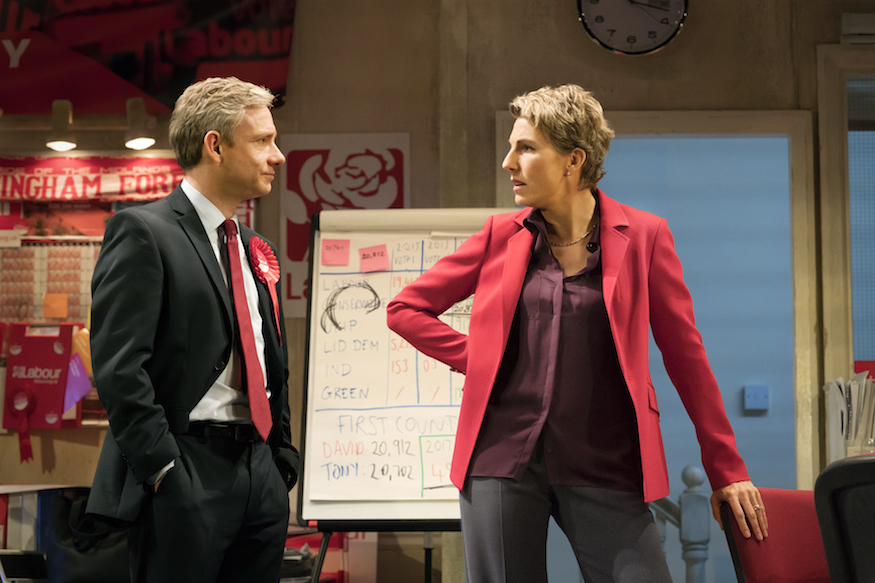Martin Freeman And Tamsin Greig Team Up For Political Comedy Labour Of Love
