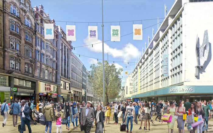 Plans To Transform Oxford Street Have Progressed... Slightly