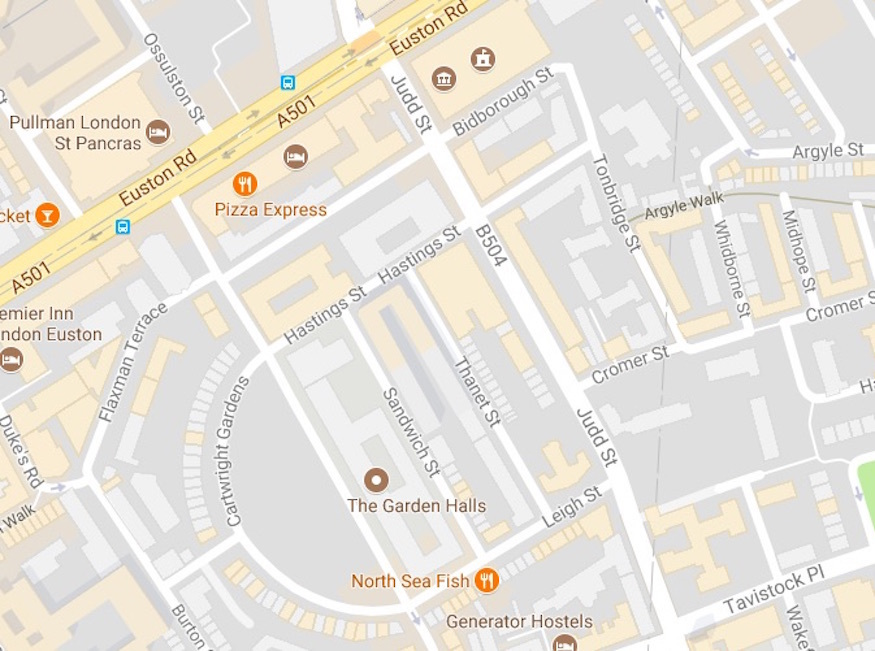 What's So Special About These St Pancras Street Names?