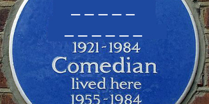 Can You Guess Who These Erased Blue Plaques Are For?