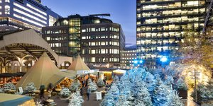 A Winter Forest Has Sprung Up In Central London