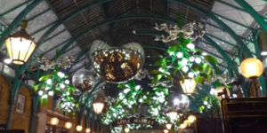 It's Beginning To Look A Lot Like Christmas In Covent Garden