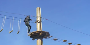 Whizz Down A 79 Metre Long Zip Wire At Alexandra Palace