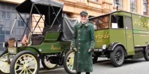 Ever Spotted One Of Harrods' Vintage Vehicles Nipping Around London?