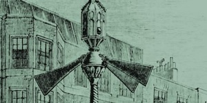 Here's What The World's First Traffic Lights, In Westminster, Looked Like