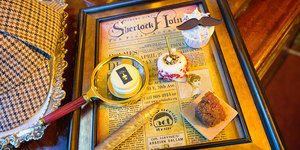 Cakes And Conundrums Combine At This Sherlock Holmes Afternoon Tea
