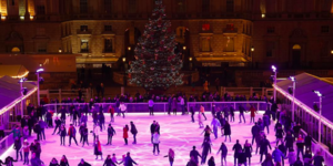 Glide Around An 18th Century Courtyard At The Somerset House Ice Rink