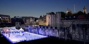 Fancy Ice Skating In The Tower Of London Moat?