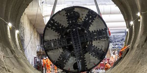 Tunnelling On The Northern Line Extension Is Now Complete