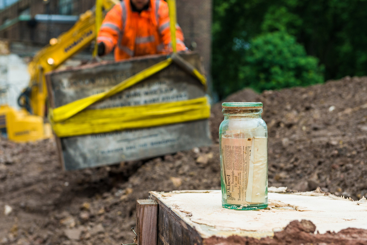 HS2 Uncovers Two Time Capsules At Euston