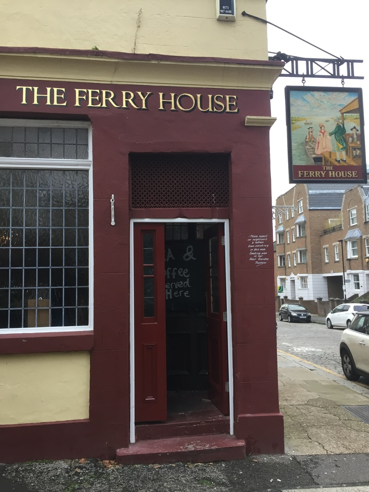 The Ferry House, Isle of Dogs