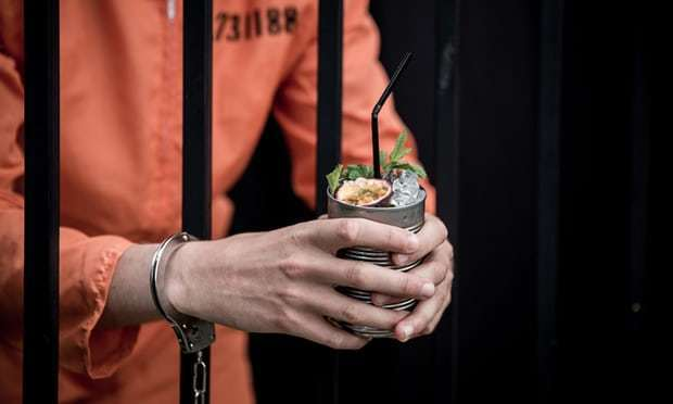 Is London's new prison-themed cocktail bar simply criminal?