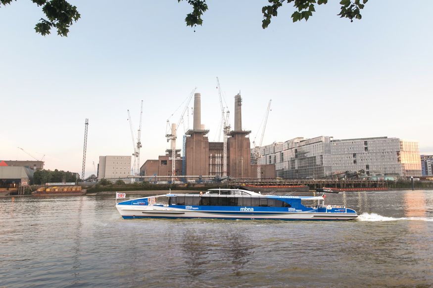 Thames Clippers Has Opened A New London Pier