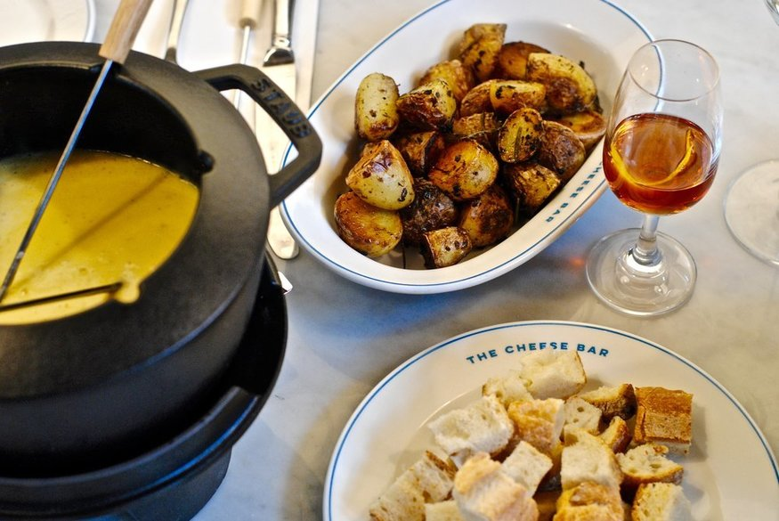 Combine Festivity With Fondue At Camden's Cheese Bar