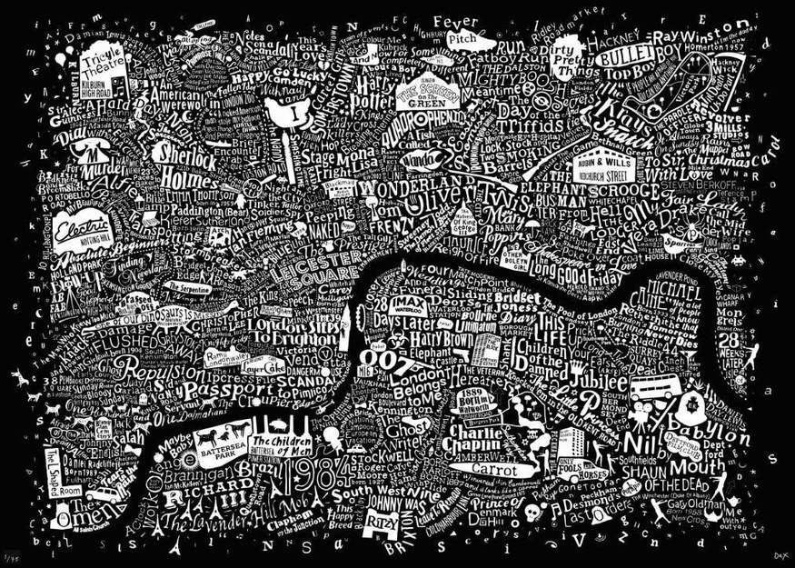 Is Your Favourite Film On This London Movie Map?