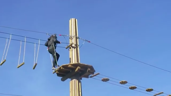 Are you ready to take on Alexandra Palace's new 79m zip wire?
