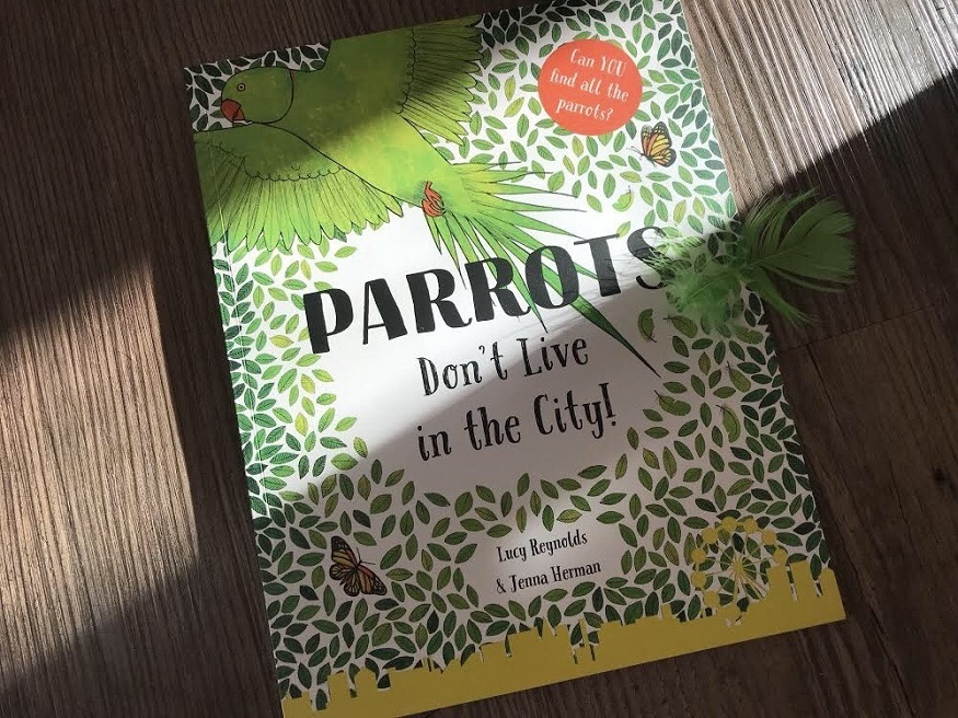 Squawk! London's Parakeets Star In New Children's Book