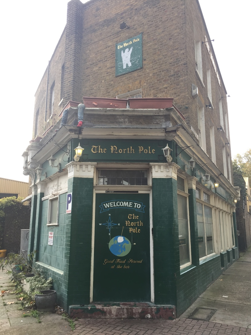 The North Pole, Isle of Dogs