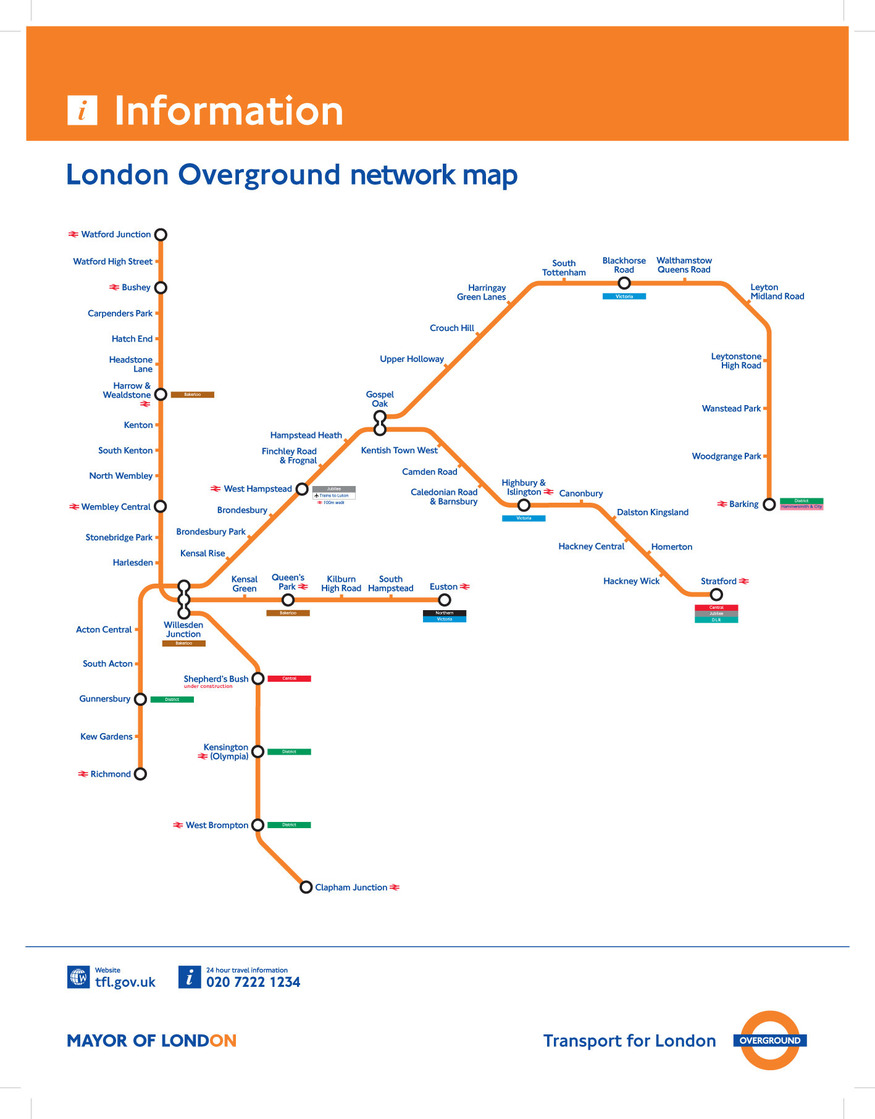 Remember What The Original Overground Map Looked Like Londonist