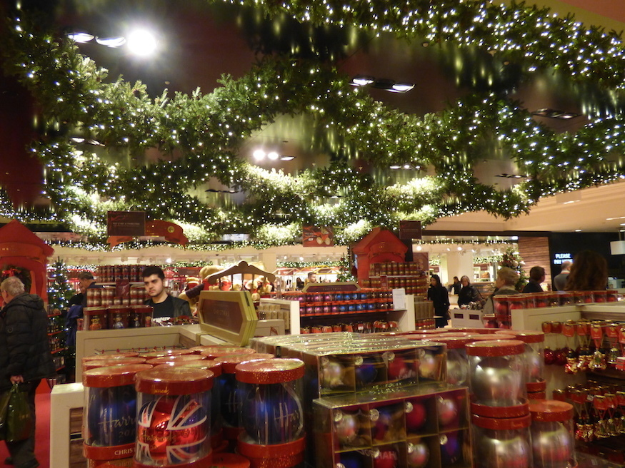 last year we spent a day traipsing around the big five london department stores pitting their christmas departments against each other on various