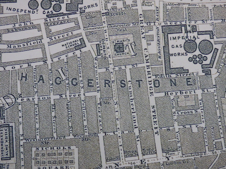 Mapped: 1862 East London Versus Modern East London