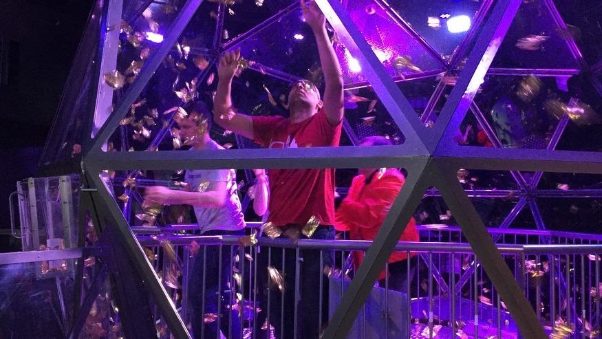 Take a peek inside The Crystal Maze Live Experience