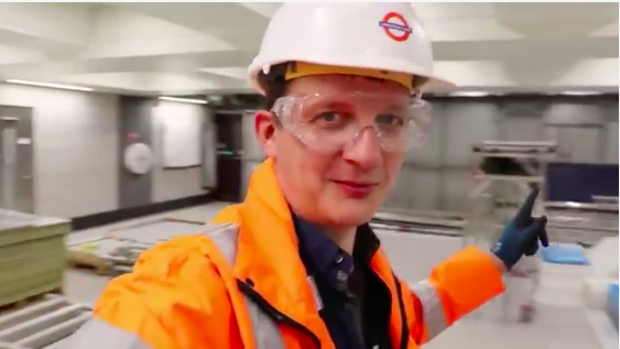 Behind the scenes at Victoria station's brand new ticket hall